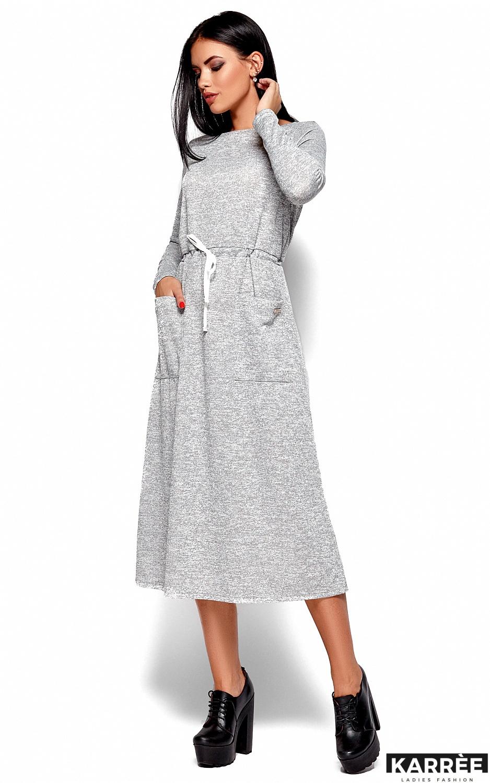 Платье Николетта, Серый - фото 3