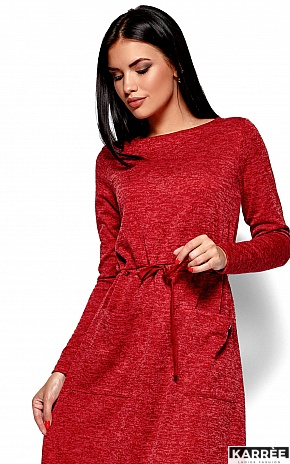 Платье Николетта, Красный - фото 2