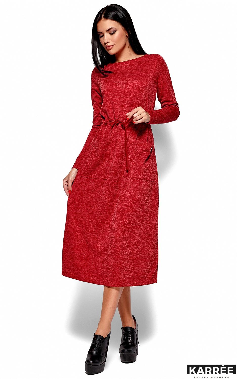 Платье Николетта, Красный - фото 4
