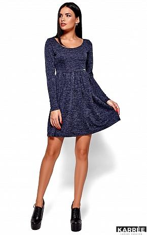 Платье Канни, Темно-синий - фото 1