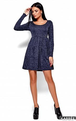 Платье Канни, Темно-синий - фото 4