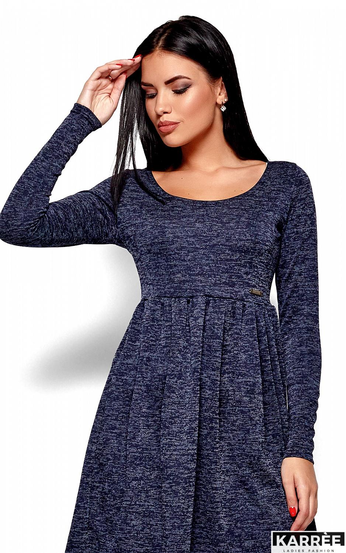 Платье Канни, Темно-синий - фото 2
