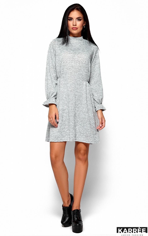 Платье Павлина, Серый - фото 1