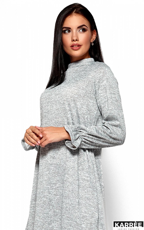 Платье Павлина, Серый - фото 2