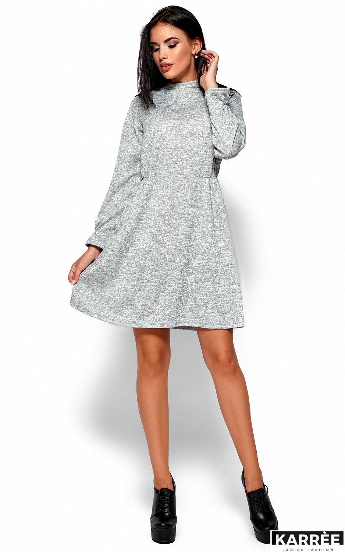 Платье Павлина, Серый - фото 3