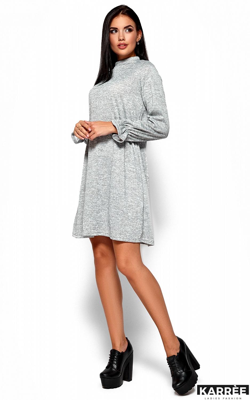 Платье Павлина, Серый - фото 5
