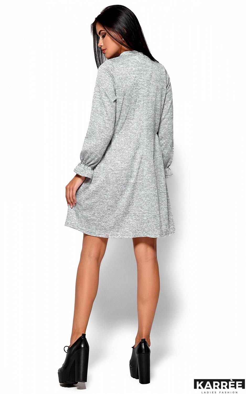 Платье Павлина, Серый - фото 4
