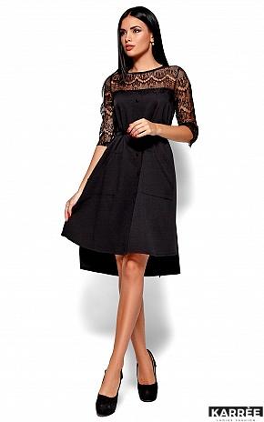 Платье Айлин, Черный - фото 1