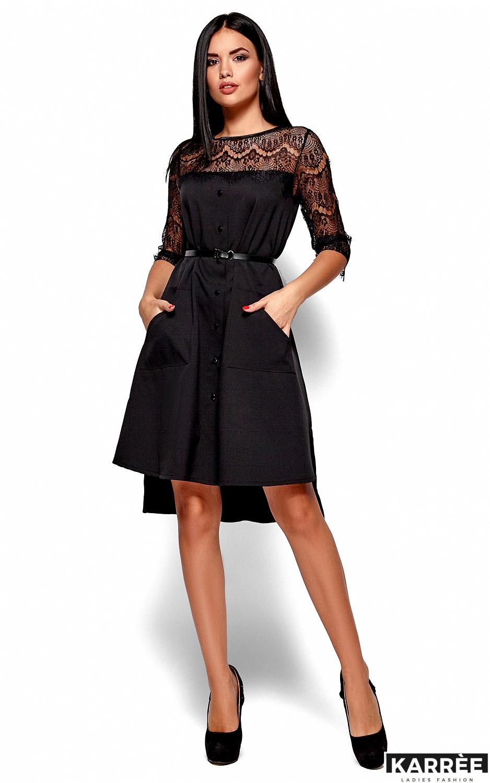 Платье Айлин, Черный - фото 5