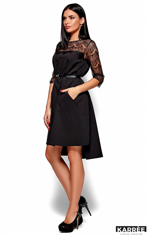 Платье Айлин, Черный - фото 3