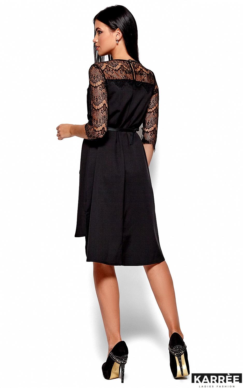 Платье Айлин, Черный - фото 4