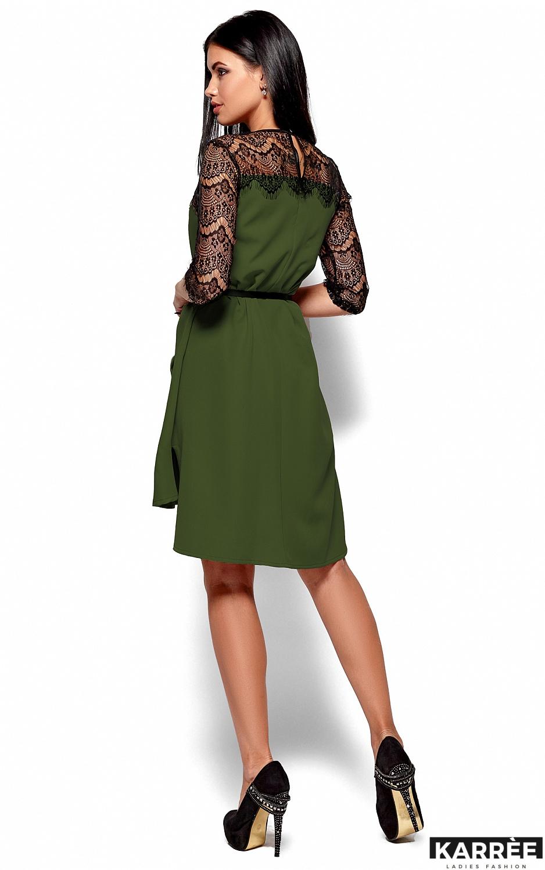 Платье Айлин, Хаки - фото 3