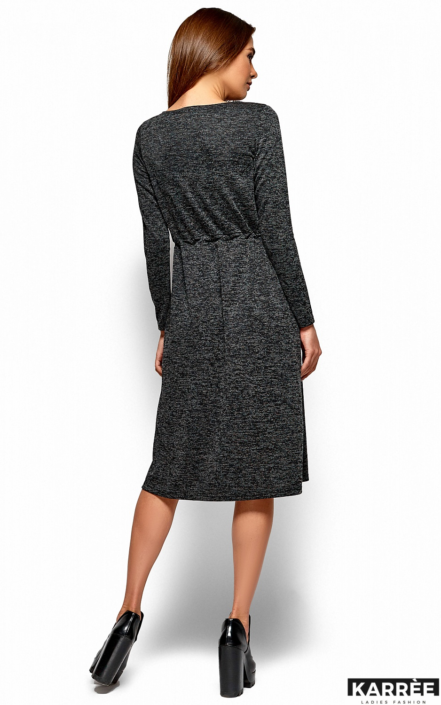 Платье Флайти, Черный - фото 3