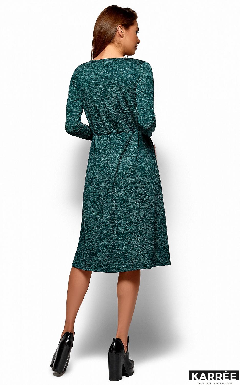 Платье Флайти, Темно-зеленый - фото 4