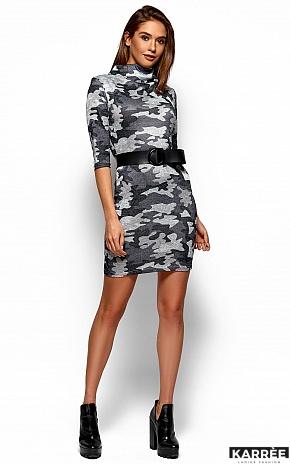 Платье Эдра, Серый - фото 4