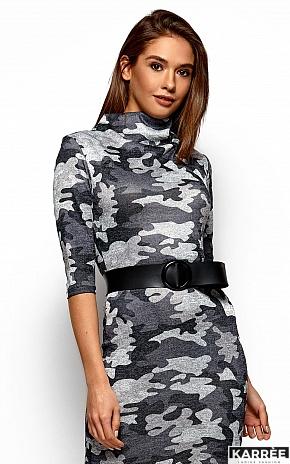 Платье Эдра, Серый - фото 2