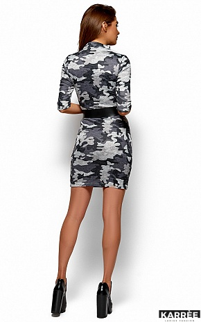 Платье Эдра, Серый - фото 3