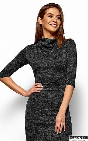Платье Монтенегро, Черный - фото 2