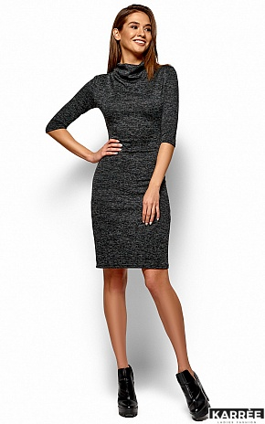 Платье Монтенегро, Черный - фото 4