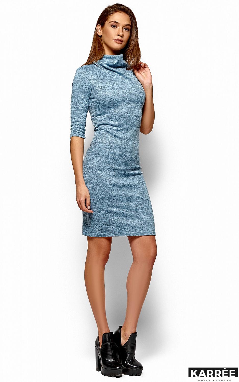 Платье Монтенегро, Голубой - фото 4