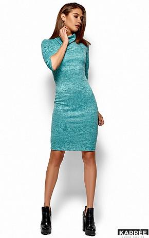 Платье Монтенегро, Бирюза - фото 4