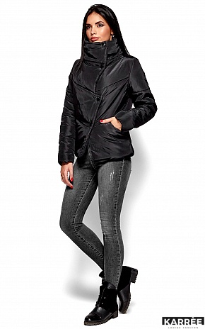 Куртка Стелла, Черный - фото 5