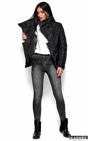 Куртка Стелла, Черный - фото 4