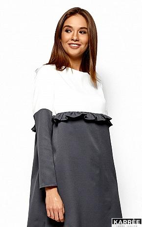 Платье Ванесса, Серый - фото 2
