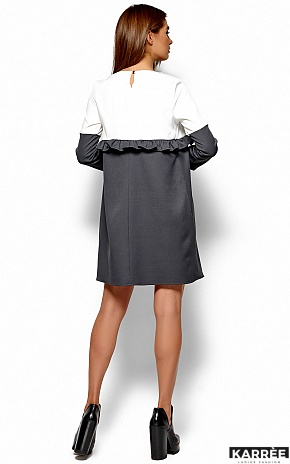 Платье Ванесса, Серый - фото 3