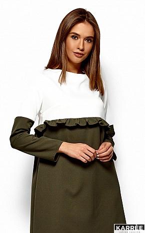 Платье Ванесса, Хаки - фото 2