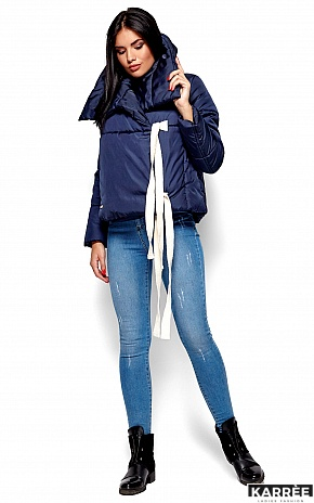 Куртка Селеста, Темно-синий - фото 4