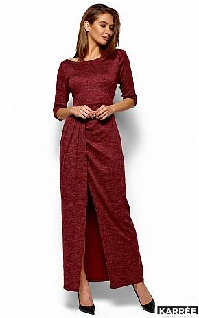 Платье Касандра, Бордо - фото 5