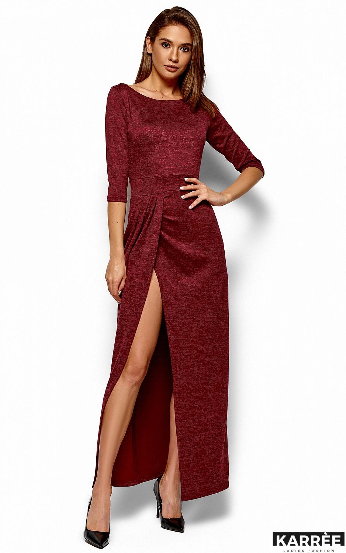Платье Касандра, Бордо - фото 1