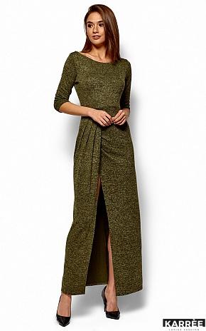 Платье Касандра, Хаки - фото 3