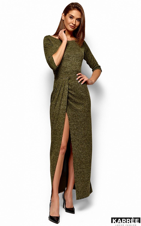 Платье Касандра, Хаки - фото 5