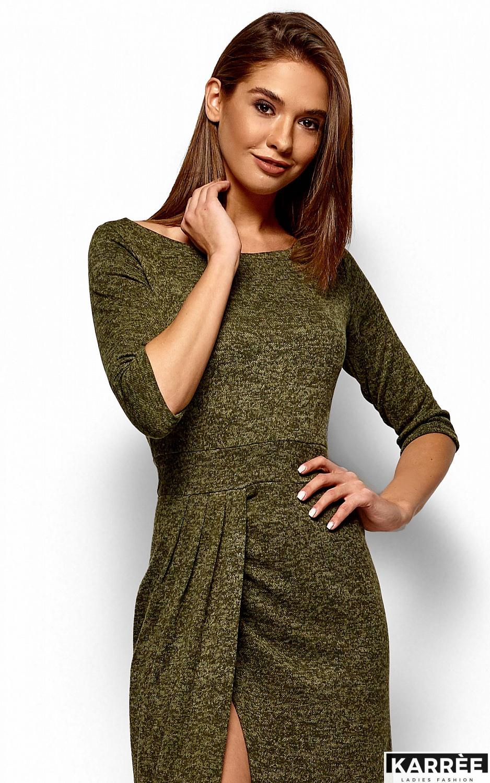 Платье Касандра, Хаки - фото 2