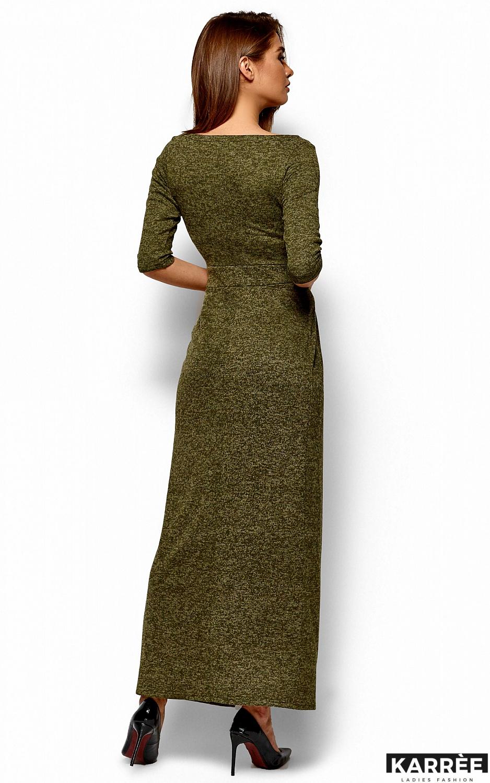 Платье Касандра, Хаки - фото 4