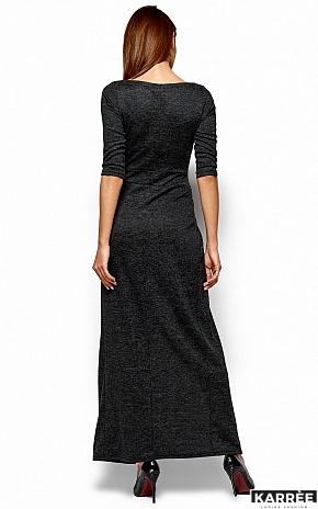Платье Касандра, Черный - фото 3