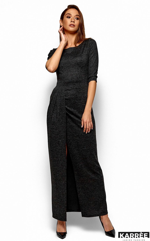 Платье Касандра, Черный - фото 4