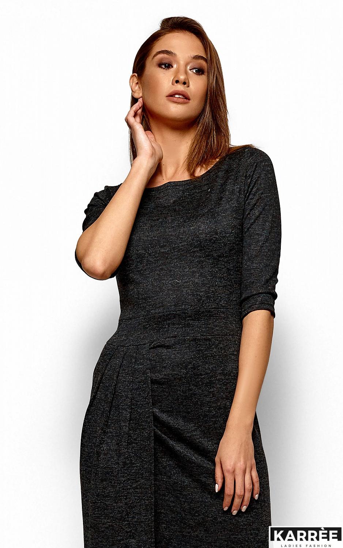Платье Касандра, Черный - фото 2