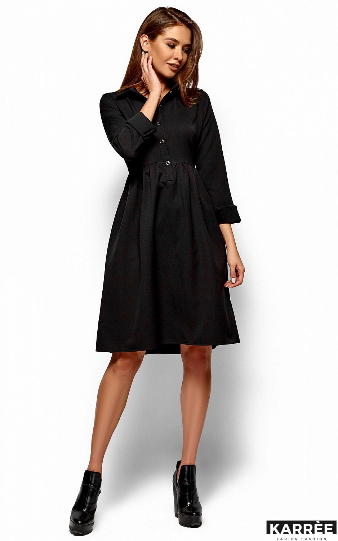 Платье Триша, Черный - фото 3