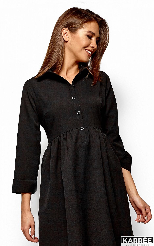 Платье Триша, Черный - фото 2