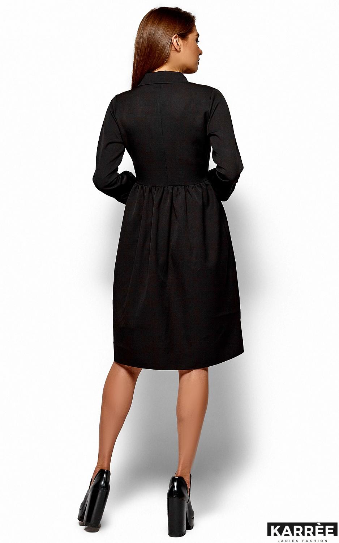 Платье Триша, Черный - фото 4