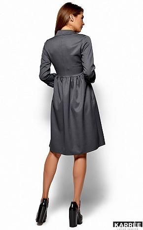 Платье Триша, Серый - фото 3