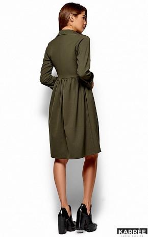 Платье Триша, Хаки - фото 4