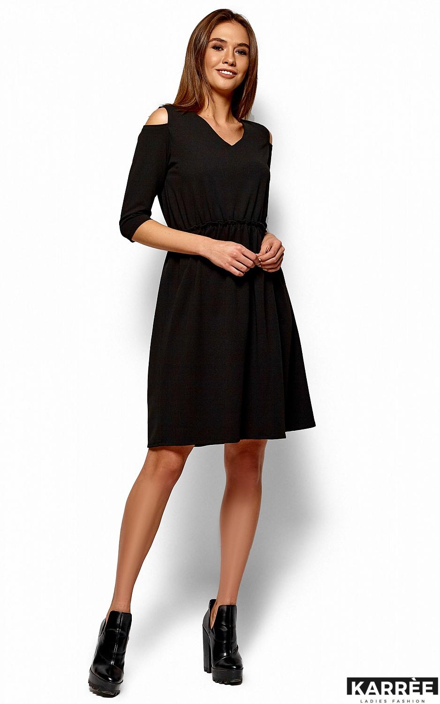 Платье Злата, Черный - фото 4