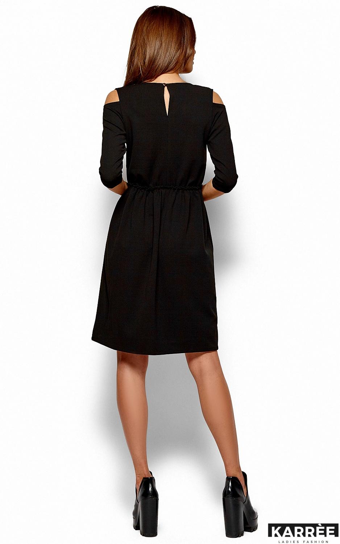 Платье Злата, Черный - фото 3