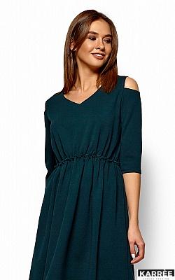 Платье Злата, Темно-зеленый