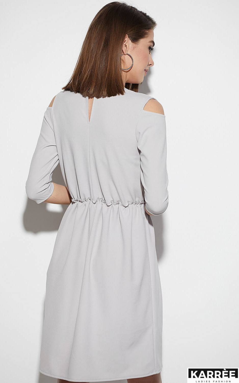 Платье Злата, Светло-серый - фото 3