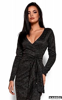 Платье Карла, Черный